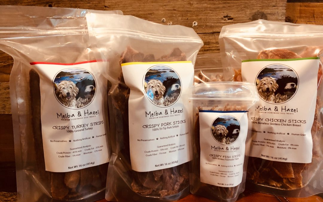 Melba & Hazel – Premium Homemade Dog Treats